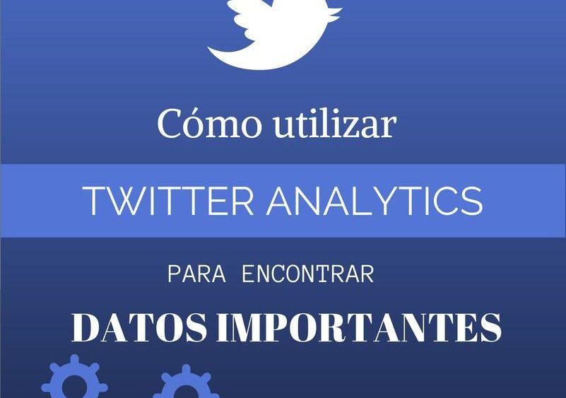 Twitter analítica