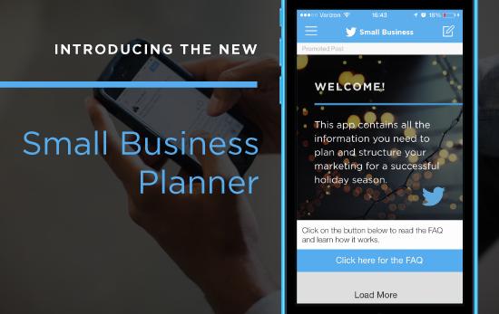 Twitter Smal Business Planner
